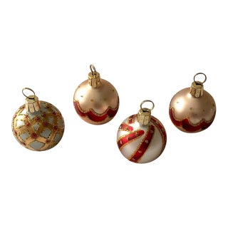 Ornament Place Card Holders, Set of 4 For Sale
