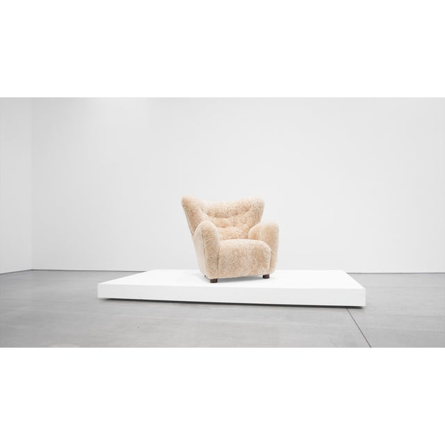 Mogens Lassen Mogens Lassen Attributed, Lounge Chair C. 1940 For Sale - Image 4 of 10