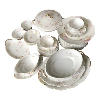 Antique , Theodore Haviland Limoges France Partial Set, Dinnerware For Sale