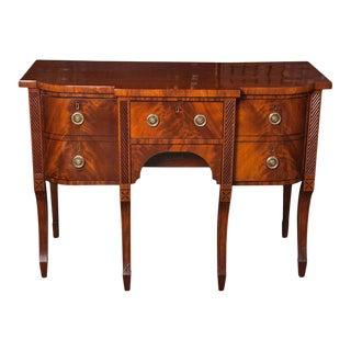 Graceful Regency Period Sideboard For Sale