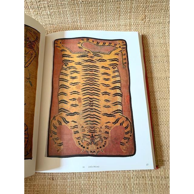 Illustration Vintage Tiger Rugs of Tibet Art Book For Sale - Image 3 of 6