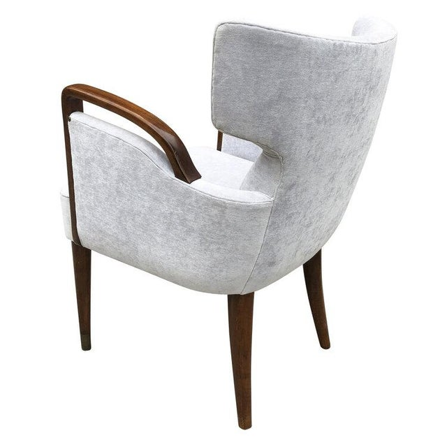 Mid-Century Modern Melchiorre Bega Armchairs Model 511 For Sale - Image 3 of 7