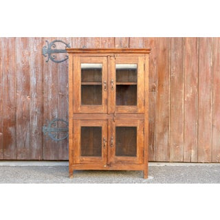 Mid Century Teak Glass Cabinet Preview
