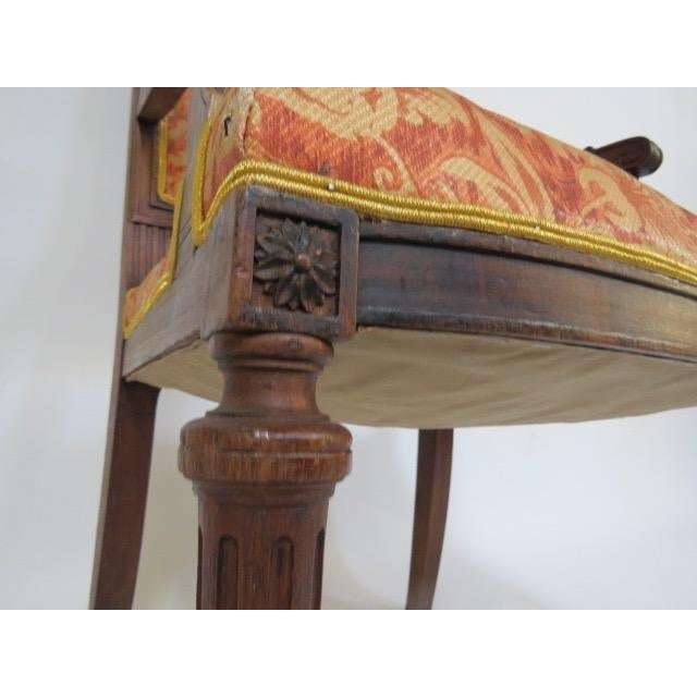 1900's Louis XVI Chair For Sale In New York - Image 6 of 8