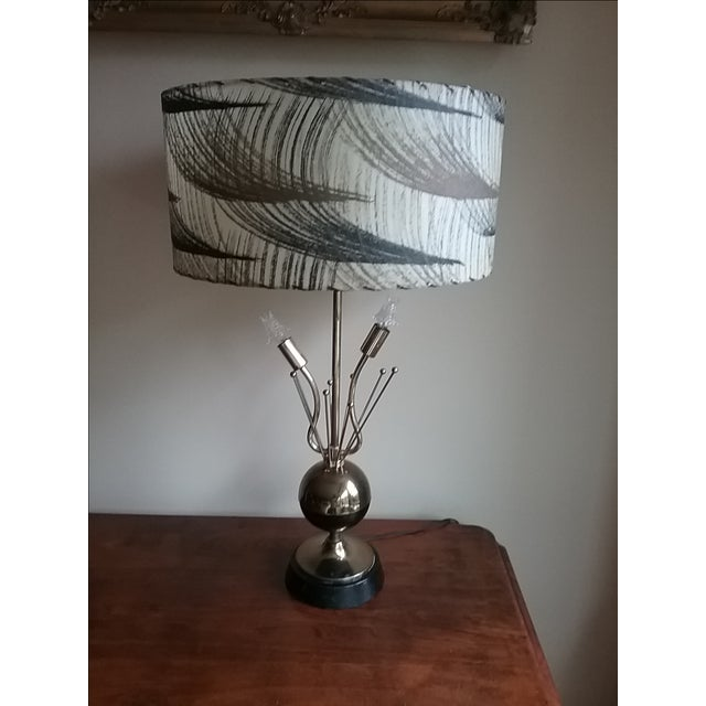 1950s Atomic Table Lamp - Image 3 of 5