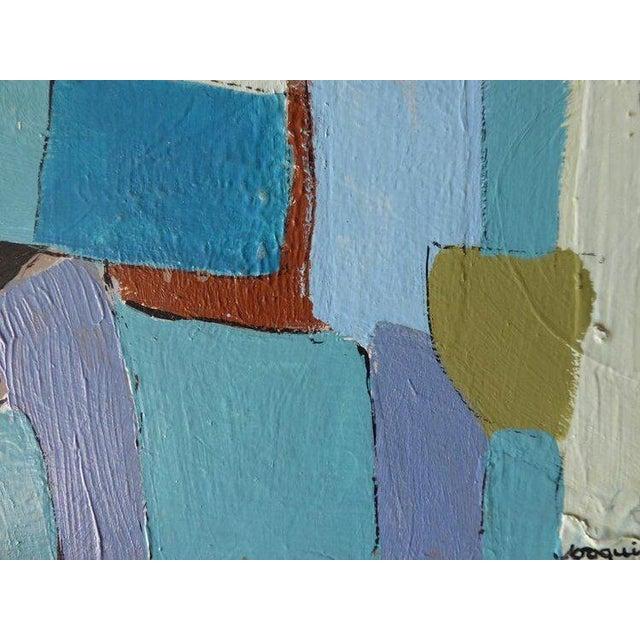 """Carrés Et Couch De Couleur"" an Original Contemporary Painting by American Artist Kenneth Joaquin For Sale - Image 11 of 13"