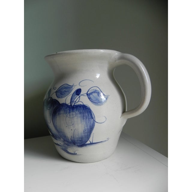 Cottage Yesteryears Pottery Pitcher For Sale - Image 3 of 5