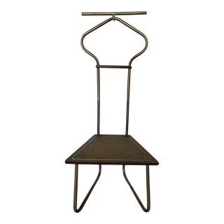 1960s Vintage Suit Butler Valet With Seat For Sale