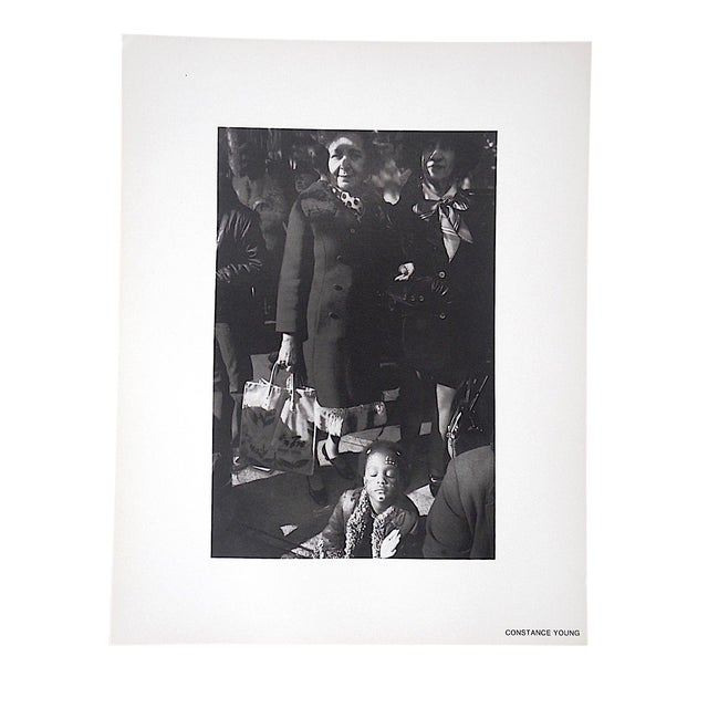 Vintage Mid Century Ltd. Ed. Photograph by Constance Young-1973 SoHo Photo Gallery Portfolio For Sale