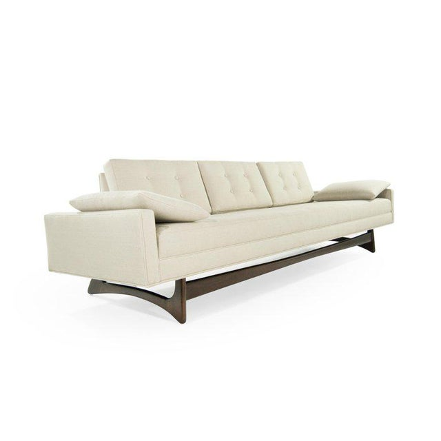 Mid 20th Century Adrian Pearsall for Craft Associates Model 2408 Sofa For Sale - Image 5 of 12