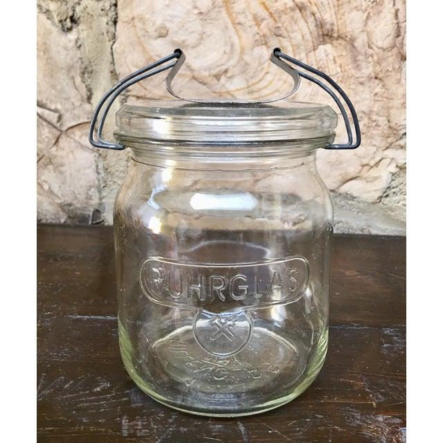 Vintage German Ruhrglass Fruit Jars - Set of 4 For Sale - Image 4 of 10