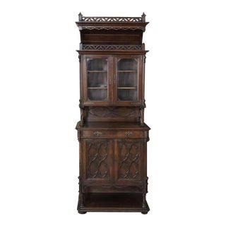 19th Century Gothic Dessert Buffet ~ Vitrine For Sale