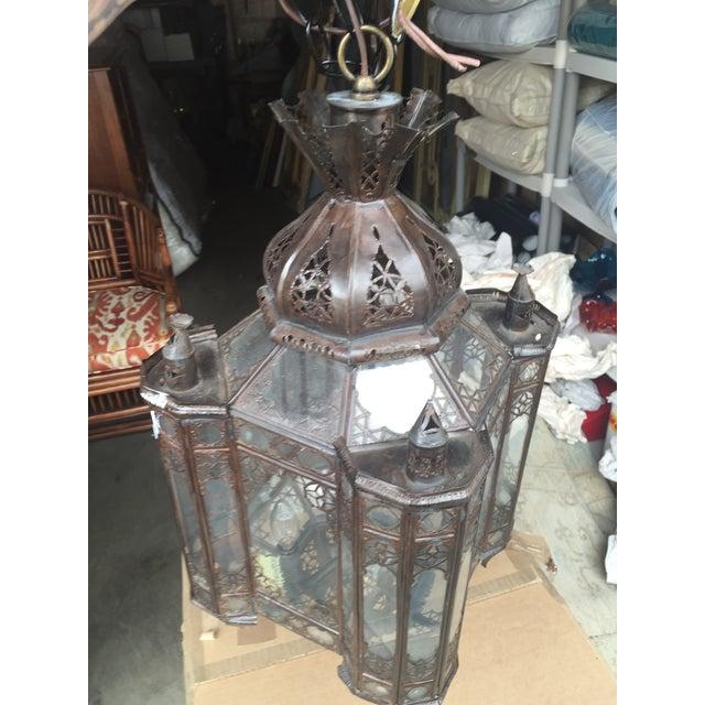Moroccan Hanging Lamp - Image 2 of 7