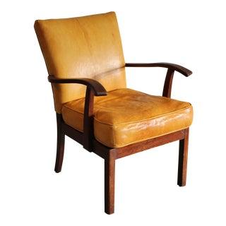 1930s Vintage j.s. Dalberg Danish Lounge Chair For Sale