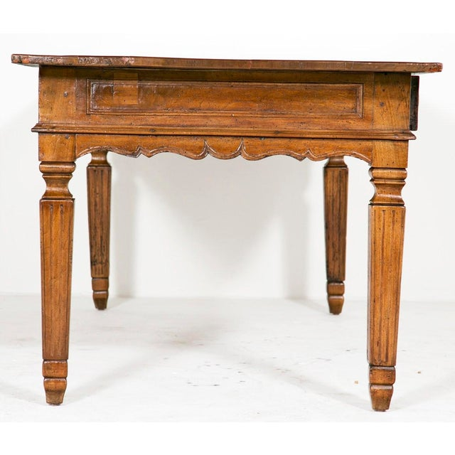 Country Early 19th Century Italian Farm House Table For Sale - Image 3 of 6