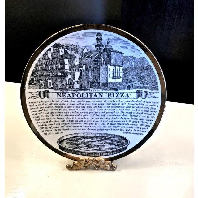 Mid-Century Fornasetti Italian Recipe Plates For Sale - Image 9 of 11