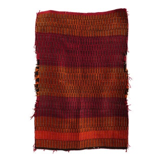 Native America Style Antique Navajo Blanket For Sale