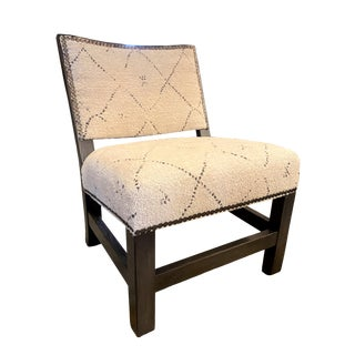 Shin Toaster Chair in Handloom Natural by Lee Industries For Sale