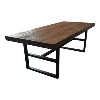 Pottery Barn Griffin Dining Table For Sale