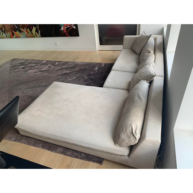 Modern Vintage Ligne Roset Sectional For Sale - Image 3 of 6