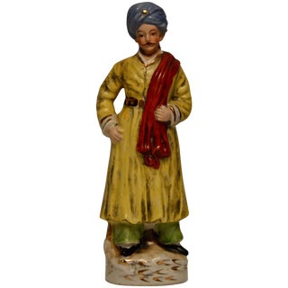 Turkish Inspired Figurine in Ottoman Garments For Sale