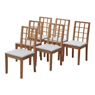 Vintage Conrans /Habitat Dining Room Chairs - Set of 6 For Sale