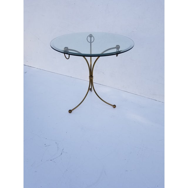 Neoclassical Maison Jansen Style Gueridon Table For Sale - Image 9 of 9