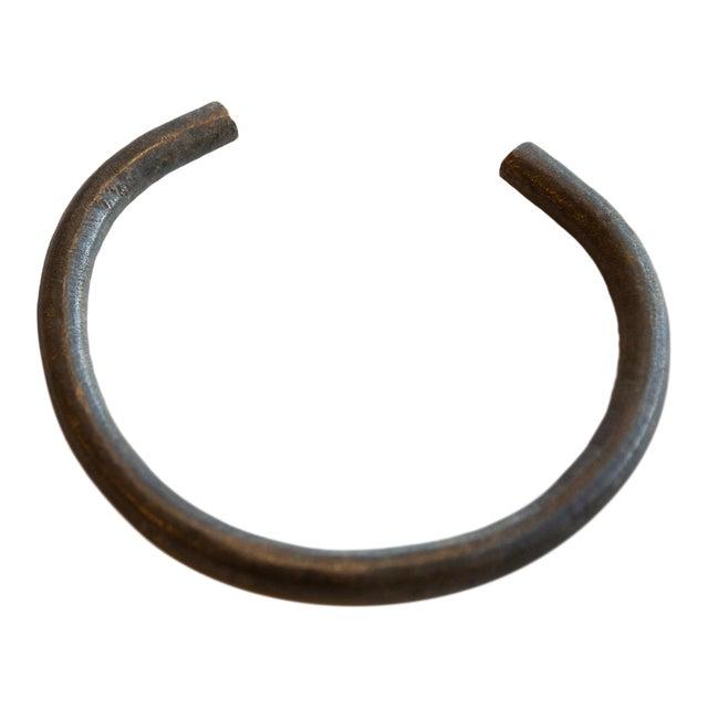 Vintage African Bronze Artifact For Sale