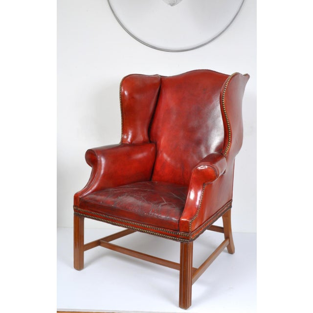 Wingback Chair, England For Sale - Image 12 of 12