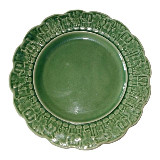 20th Century Cottage Portuguese Ceramic Plate For Sale