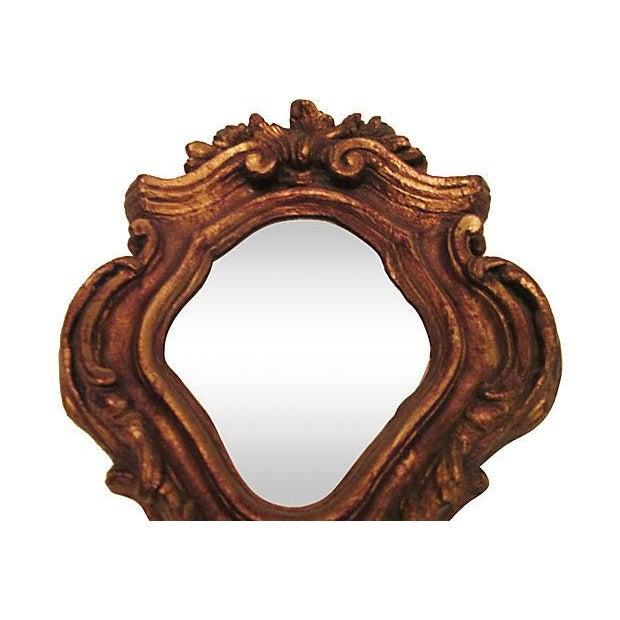 Bronze Gilt Decorative Mirror - Image 3 of 7