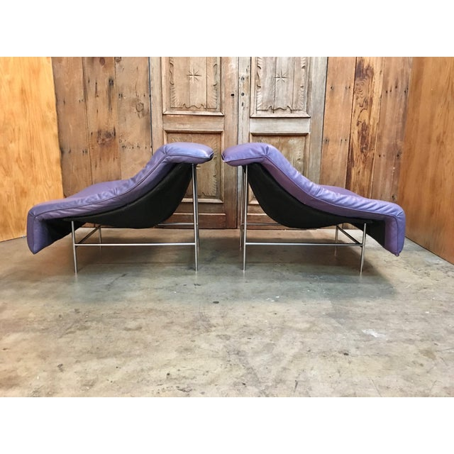 Vintage Mid Century Gerard Van Den Berg Butterfly Chairs- A Pair For Sale - Image 9 of 13
