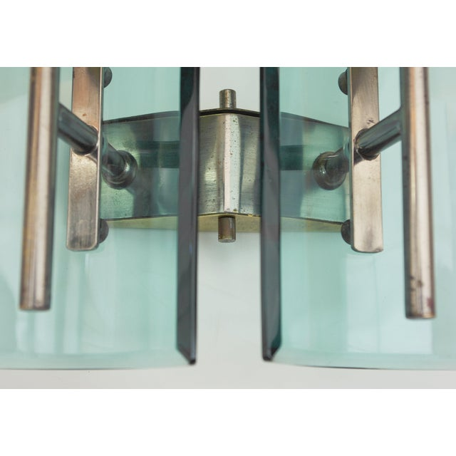 Cristal Arte Beveled Sconces (3 Available) For Sale - Image 10 of 12