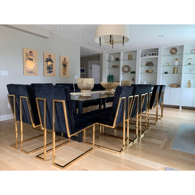Metal Dining Table Base, Desk base, Console Table, Credenza or Conference Table Stylish and modern, Invictus Steelworks'...