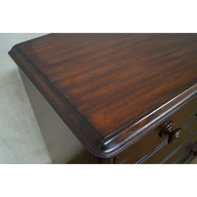 Ralph Lauren Mahogany Empire Style Chest of Drawers For Sale - Image 10 of 10