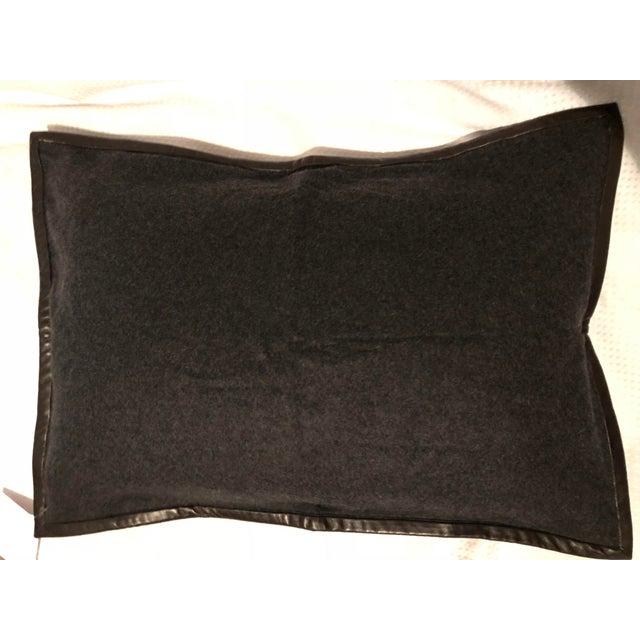 Ralph Lauren Cashmere & Leather Pillow Sham - Image 7 of 7