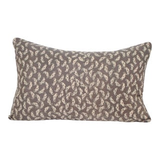 Kani Crab Silk Kimono Pillow For Sale