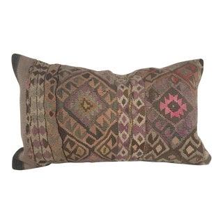 Sunset Kilim Long Lumbar Pillow