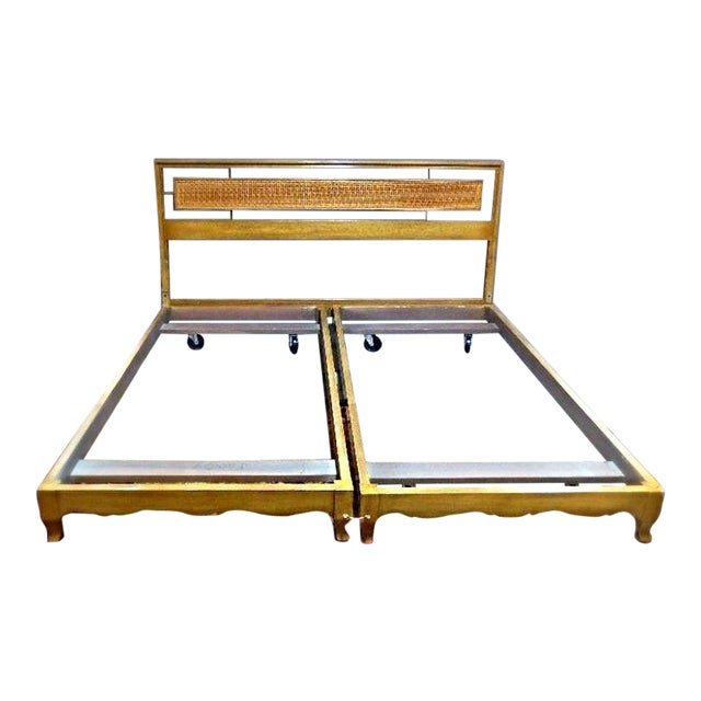 Mid-Century Modern King Sized Bed For Sale