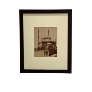Antique Photograph of the Mosque Muhammad Ali For Sale