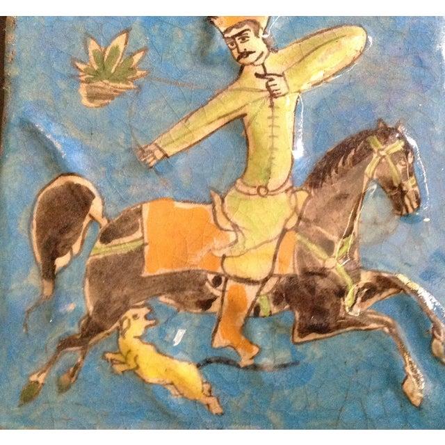 Hanging Vintage Persian Tile - Image 4 of 6