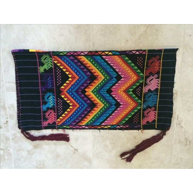 Vintage Guatemalan Textile For Sale In Dallas - Image 6 of 7