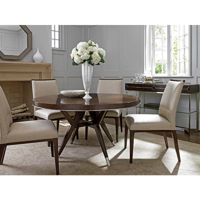 Contemporary Modern Lexington McArthur Park Collina Dining Chair For Sale - Image 3 of 4