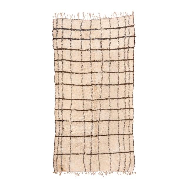 "Vintage Tribal Moroccan Rug-6'4x'12'3"" For Sale - Image 9 of 9"