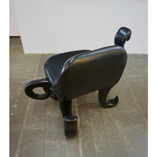 "Contemporary 1960s Vintage Unusual ""Octopus"" Side Chair For Sale - Image 3 of 8"