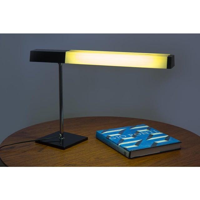 Lightolier Chrome Desk Lamp For Sale In New York - Image 6 of 7