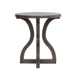 Erinn V Dark Oak Side Table