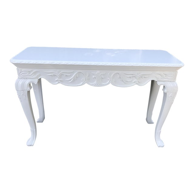 Vintage French Console Table For Sale