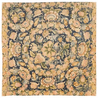 Antique 17th Century French Needlework Tapestry For Sale
