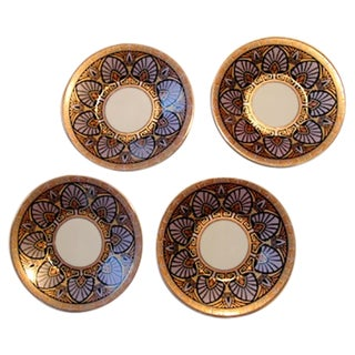 Japanese Decorative Plates - Set of 4 For Sale